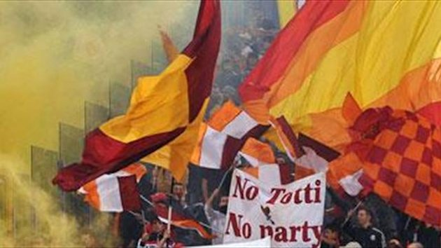 Rome Derby 'closed doors risk'