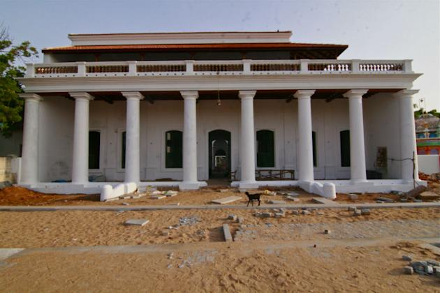 Tranquebar: Governor's residence under renovation