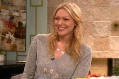 Laura Prepon stops by Access Hollywood on February 7, 2012 -- Access Hollywood