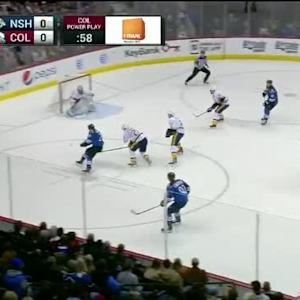 Marek Mazanec Save on Nathan MacKinnon (12:36/1st)