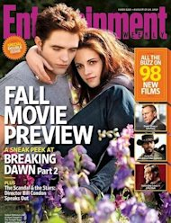 Pattinson y Stewart juntos de nuevo... en la portada de Entertainment Weekly