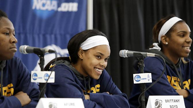 Cal women embrace NCAA chance at powerhouse Baylor