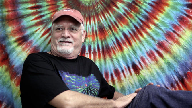 "FILE - In this May 9, 2009 file photo, drummer Bill Kreutzmann of The Dead, poses prior to a performance at the Forum in the Inglewood section of Los Angeles. Kreutzmann is working on a memoir scheduled to be published in 2015 by St. Martin's Press, the publisher announced Wednesday. The book, currently untitled, will include reflections on his ""deep bond"" with the late Jerry Garcia and memories of Bob Dylan, the Rolling Stones and the Allman Brothers. (AP Photo/Richard Vogel, file)"