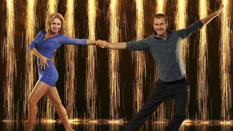 """Dancing with the Stars"" Season 16 KYM JOHNSON, INGO RADEMACHER"