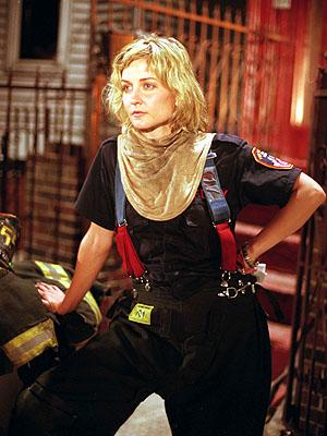 Amy Carlson as Alex Taylor on NBC's Third Watch Third Watch