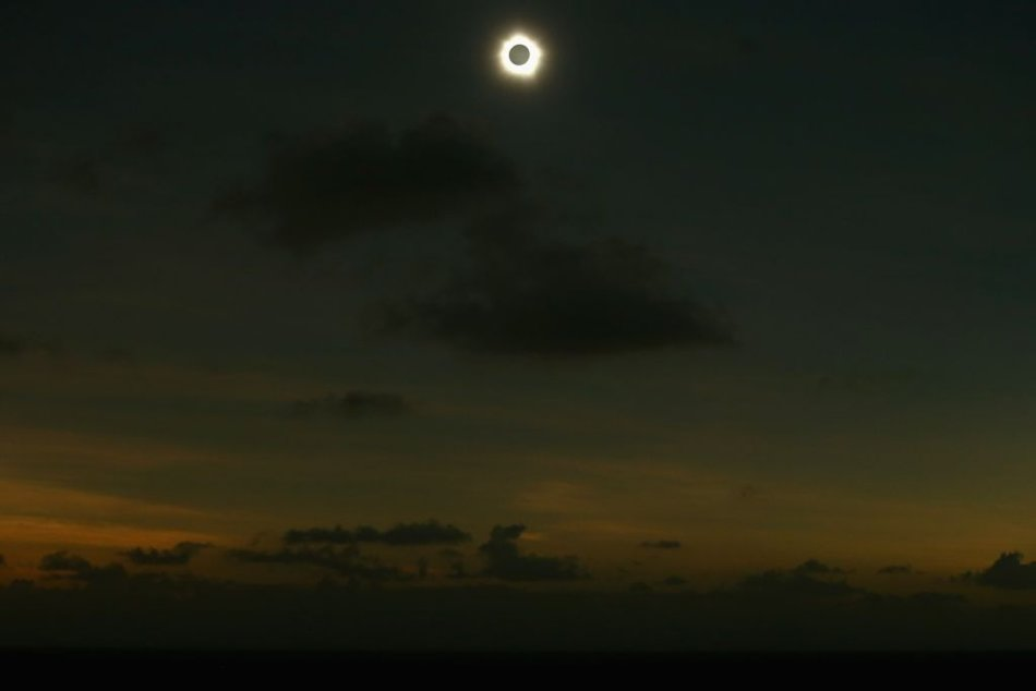 Total Solar Eclipse, Queensland, Australia