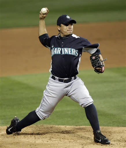 Montero drives in 3 as Mariners win