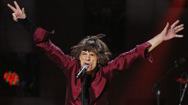 Mick Jagger Can't Say That About Sandy