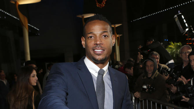 """Marlon Wayans attends the premiere of """"A Haunted House"""" at the Arclight Hollywood on Thursday, Jan. 3, 2013, in Los Angeles. (Photo by Todd Williamson/Invision/AP)"""