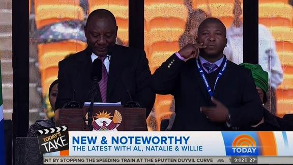 Mandela 'Fake Interpreter' Spoofs Gone Wrong