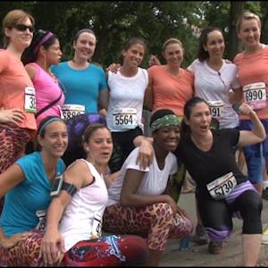 Toni On! Team Runs Achilles Hope & Possibility 5 Miler