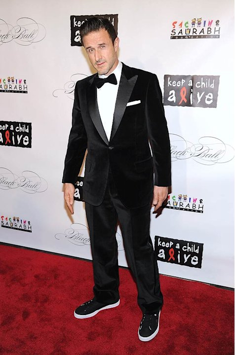 David Arquette KeepA Child Alive Ball