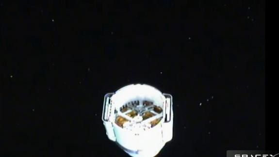 SpaceX Dragon Capsule Cleared Space Station Docking Sunday