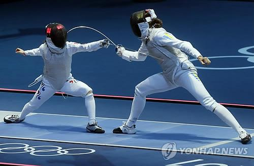 London Olympics Fencing Women