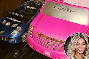 Beyonce's Daughter Blue Ivy Gets Mini Cadillac and Ferrari: Picture