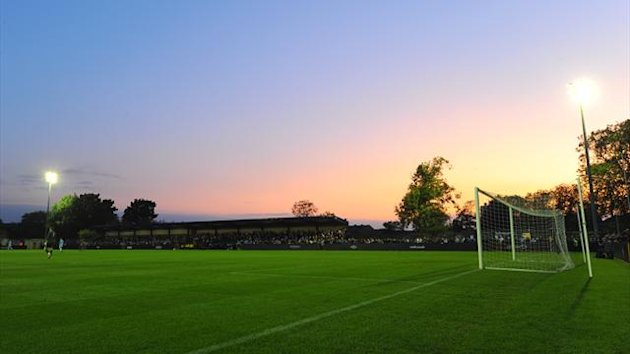 A general view of Ewen Fields, home of Hyde FC and Manchester City reserves (PA Sport)