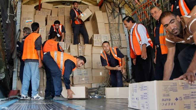 The most the Syrian regime can hope for may be continued aid in the form of supplies from Russia.