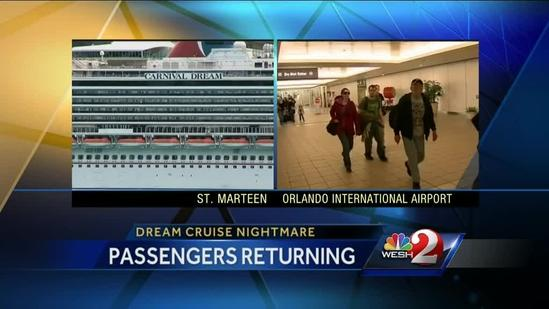 Cruise passengers fly into OIA
