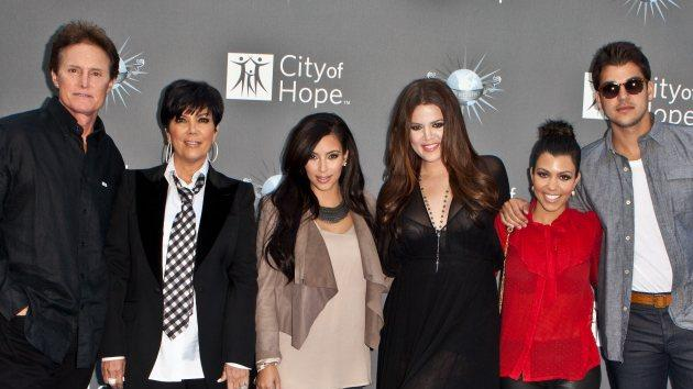 Bruce Jenner, Kris Jenner, Kim Kardashian, Khloe Kardashian, Kourtney Kardashian and Robert Kardashian arrive at the City of Hope Spirit of Life Award at Universal Studios Hollywood on May 7, 2011 in Universal City -- Getty Images