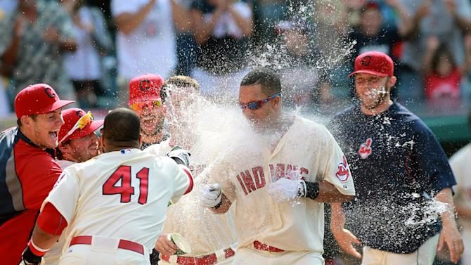Brantley's HR in 12th gives Indians 4-3 win
