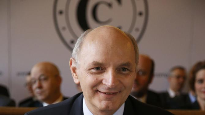 "Didier Migaud, President of the French Court of Accounts, poses before a news conference to present the 2016 annual report of the Court of Auditors or ""Cour des Comptes"" in Paris"