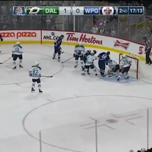 Kari Lehtonen Save on Blake Wheeler (02:48/2nd)