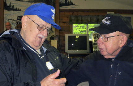 Survivor, rescuer reunite at Maine B-52 crash site