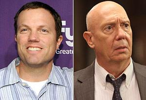 Adam Baldwin, Dann Florek | Photo Credits: Michael Buckner/Getty Images; Eric Liebowitz/NBC