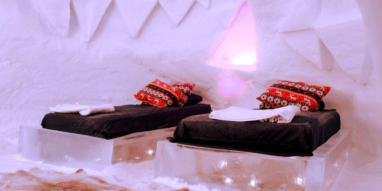 What It's Like to Spend the Night in an Ice Hotel
