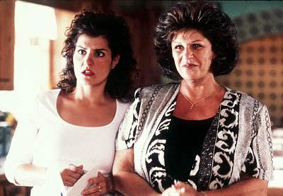 Nia Vardalos and Lainie Kazan in IFC's My Big Fat Greek Wedding