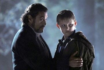Ian McShane and Alexander Ludwig in Fox Walden's The Seeker: The Dark is Rising