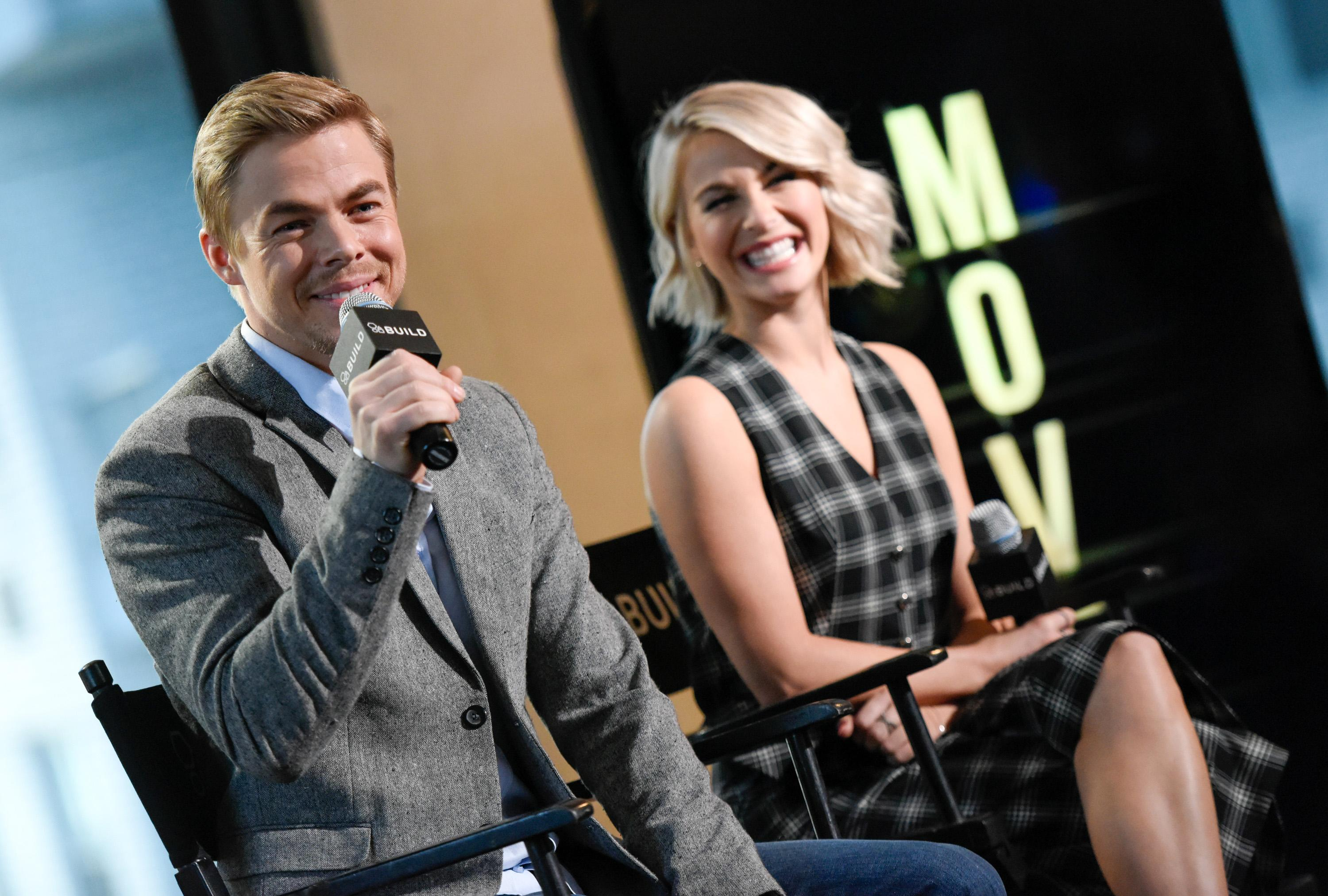 Julianne and Derek Hough to hit the road again this summer