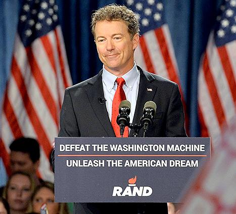 Senator Rand Paul Cuts His Own Hair: 25 Things You Don't Know About Me