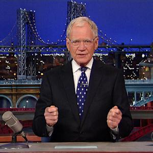David Letterman Wishes Good Luck to Stephen Colbert