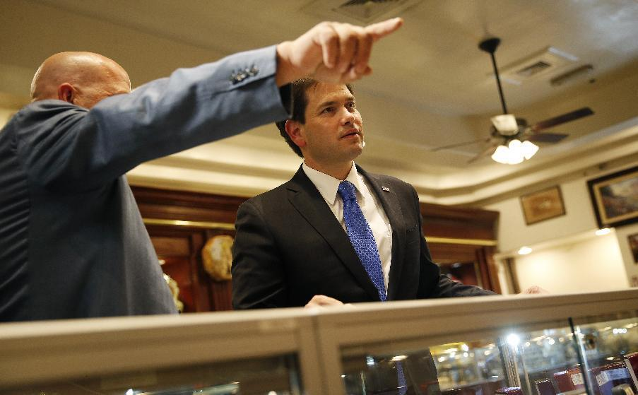 Marco Rubio grabs some Vegas pizazz for campaign