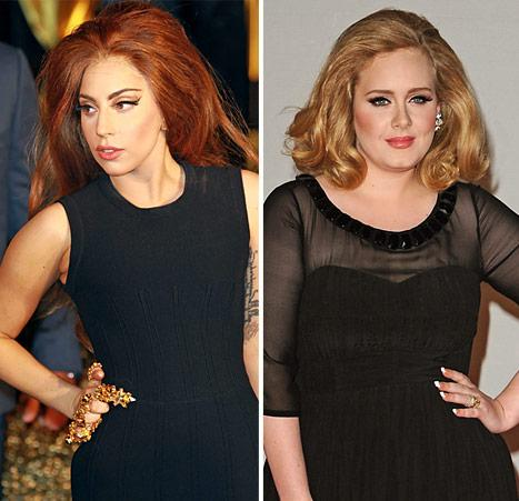 "Lady Gaga: ""Adele Is Bigger Than Me"" But No One Talks About It"