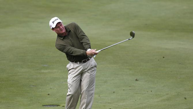 Joe Durant leads Senior PGA Championship