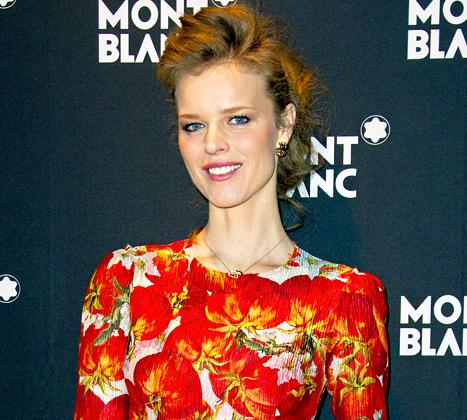 Eva Herzigova Welcomes Baby Boy Edward