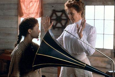 Emmy Rossum and Janet McTeer in Lions Gate's Songcatcher