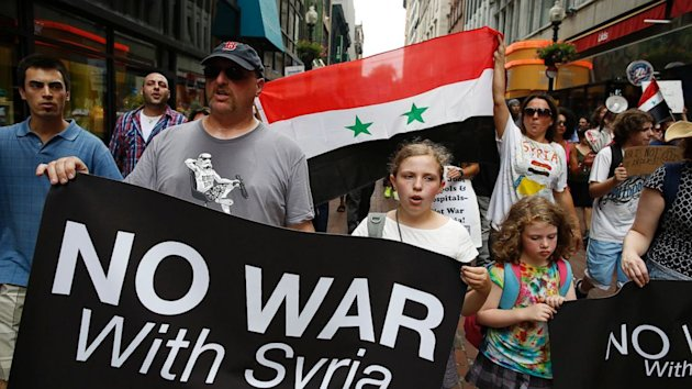 Six in 10 Oppose U.S.-Only Strike on Syria; A Closer Division if Allies are Involved (ABC News)