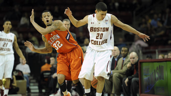 NCAA Basketball: Clemsen at Boston College