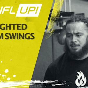 NFL UP: Weighted Arm Swings