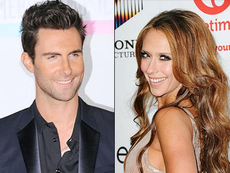 "Adam Levine: Jennifer Love Hewitt Is an ""Aggressive"" Flirt"