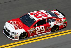 Kevin Harvick, driver of the #29 Budweiser Chevrolet | Photo Credits: Chris Graythen/Getty Images