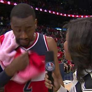 Postgame: John Wall On Court