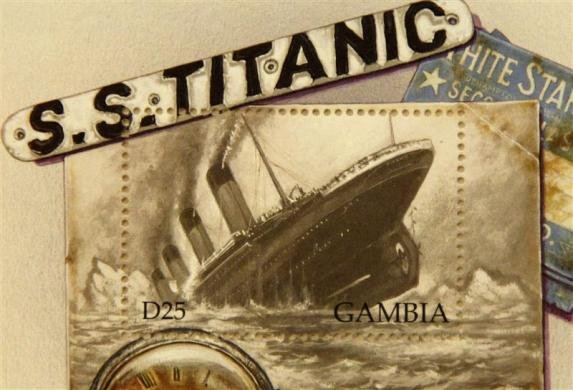Titanic stamps