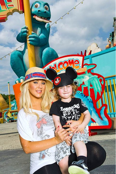 Christina Aguilera Disney World