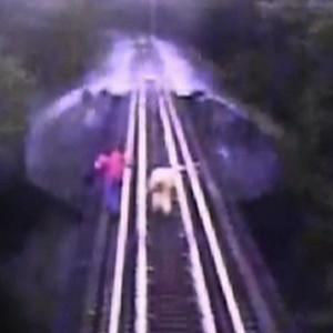 Indiana women cheat death as train passes over them