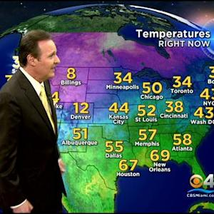 CBSMiami.com Weather @ Your Desk 12/3/13 11:30 PM