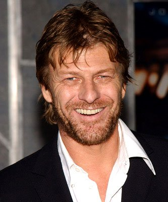 Sean Bean at the LA premiere of Touchstone's Flightplan
